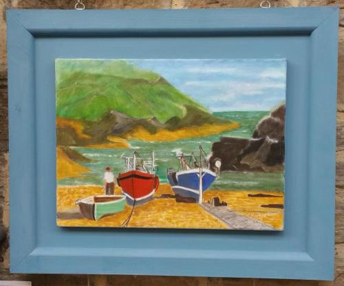 04 - A Cornish Cove - Marlene Barron