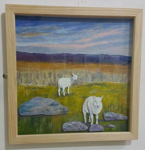 07 - Moorland Sheep - John H Bower