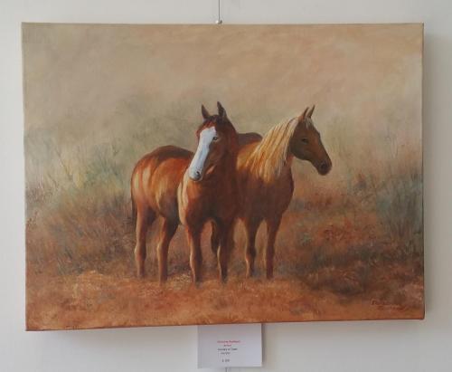 Horses at Dawn - Christine Redhead