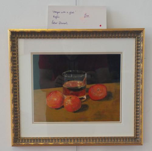 Oranges with a Glass - Peter Stewart