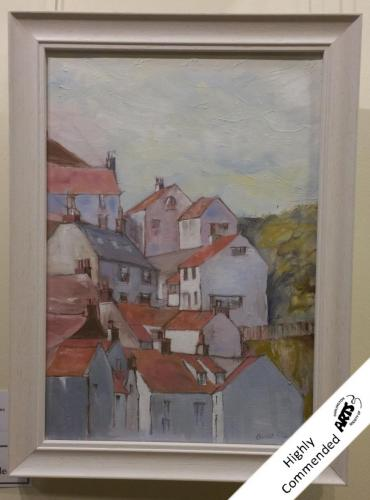 17 - Mount Pleasant Staithes - Avril Clark