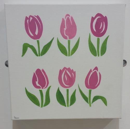 32 - Tulips - Shina Hopkins
