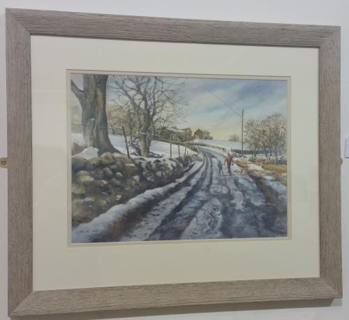 49 - Winter at Grinton - Gina Morton