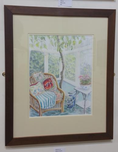 56 - Conservatory Interior - Christine Redhead