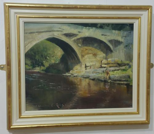 57 - Barnard Castle Bridge - William E Rees