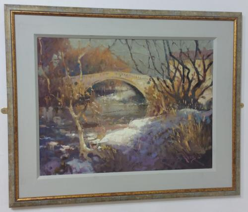 58 - First Snow Greta Bridge - William E Rees