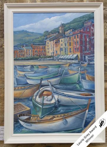 66 - Fishing Boats Portofino Italy - Andrew Kerr