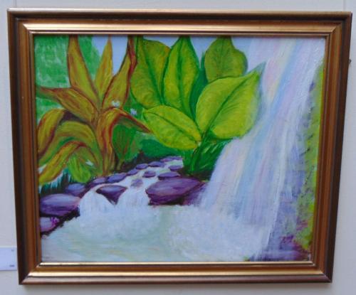 82 - Rainbow Cascade - Maureen Mann