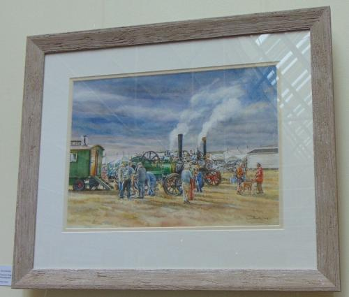 87 - Traction Engines at Wensleydale Show - Gina Morton