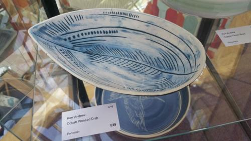 Craft 16 - Colbolt Pressed Dish - Andrew Kerr
