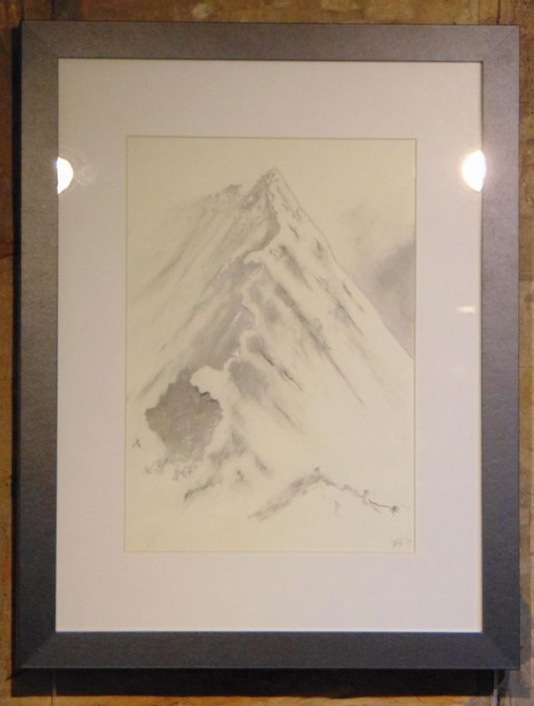Drawing 10 - Striding Edge Halvellyn - Margaret Galbraith