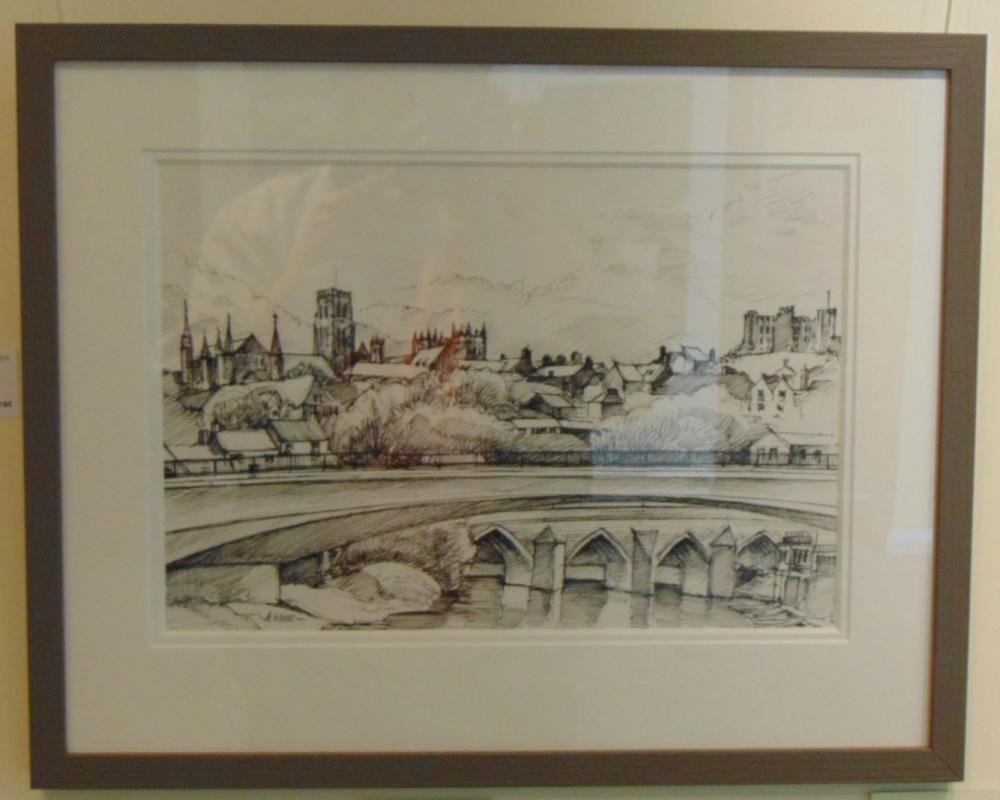 Drawing 11 - Durham City - Andrew Kerr