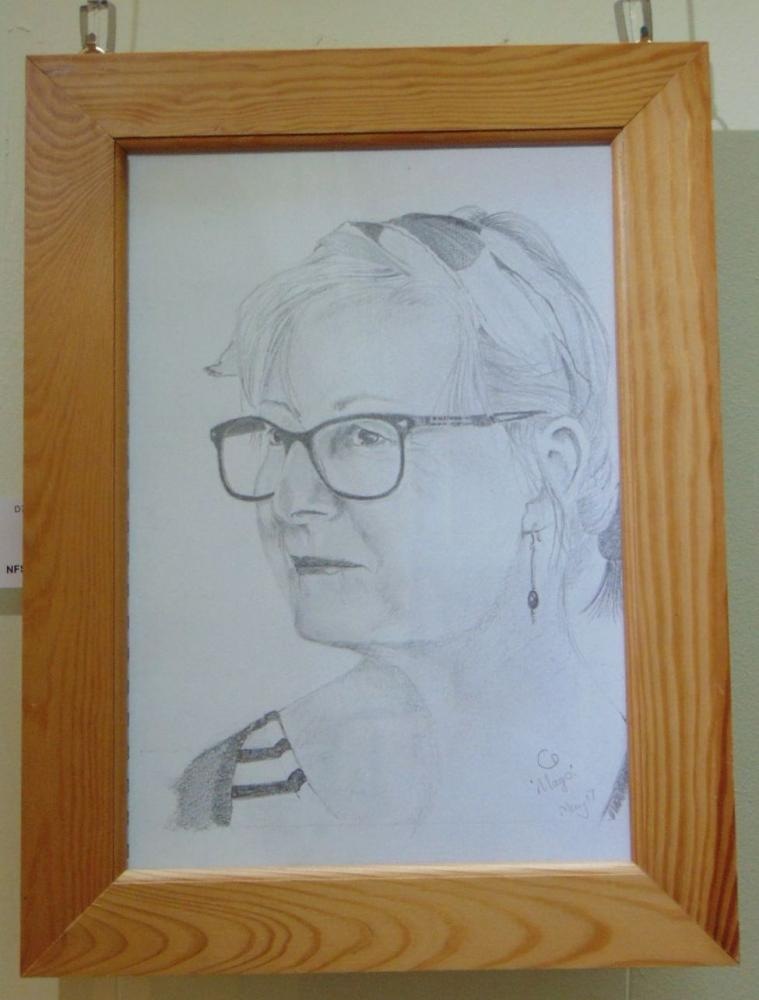 Drawing 7 - Mags - Carol Dawson