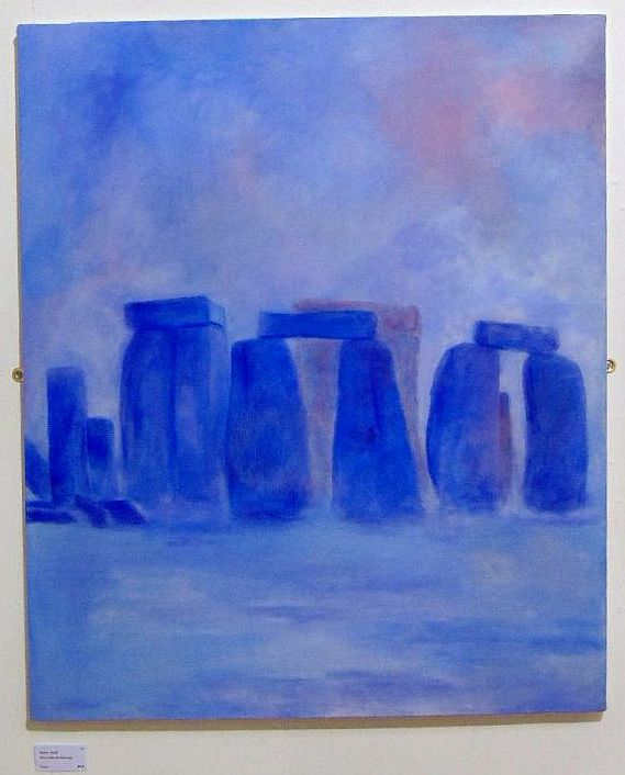 Misty Lilac Stonehenge