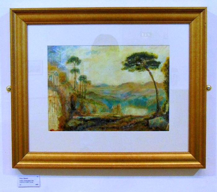 Italian Landscape in the manner of JWM Turner