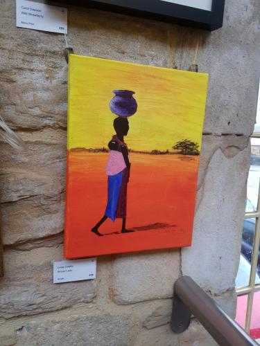 African Lady - Linda Coleby