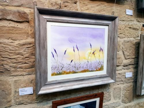 Lavender Sunset - Susan Frise