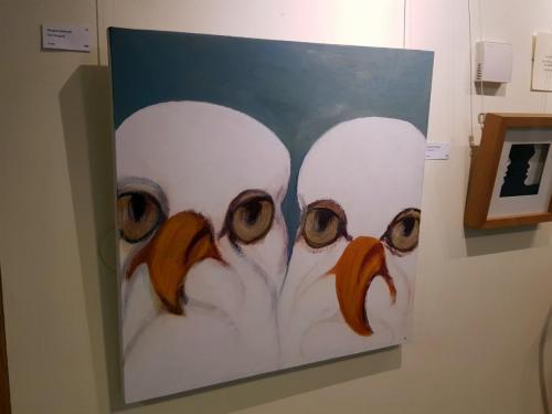 Two Seagulls - Margaret Galbraith