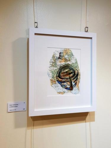 Lindisfarne Boat -Diane Garthwaite