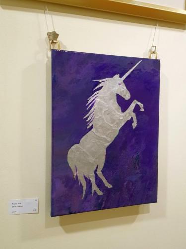 Silver Unicorn - Tracey Hull