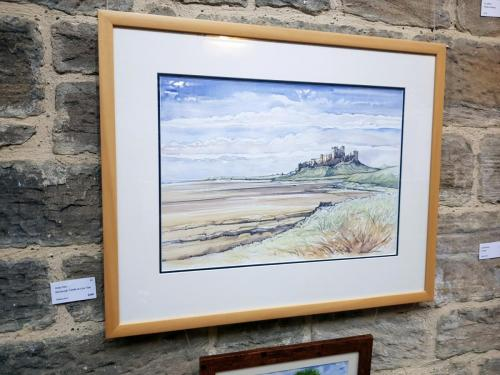 Bamburgh Castle at Low Tide - Andy Kerr