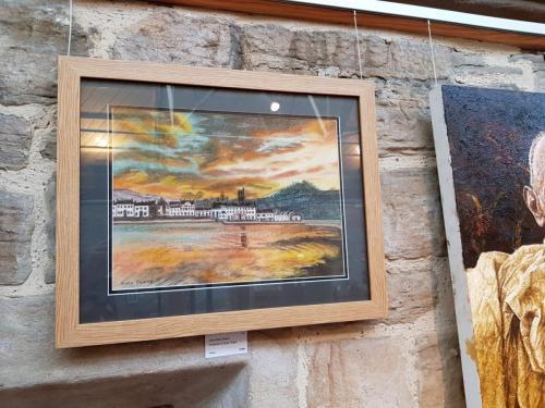 Inveraray at Dusk, Argyll - June Ruby Reeve