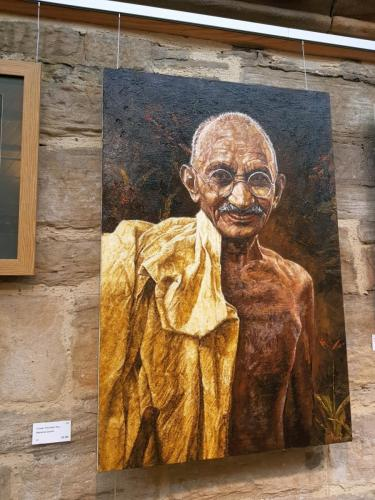 Mahatma Ghandi - Christian Fiscutean Rus