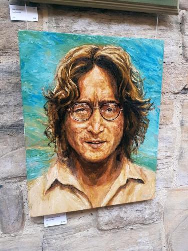John Lennon - Christian Fiscutean Rus