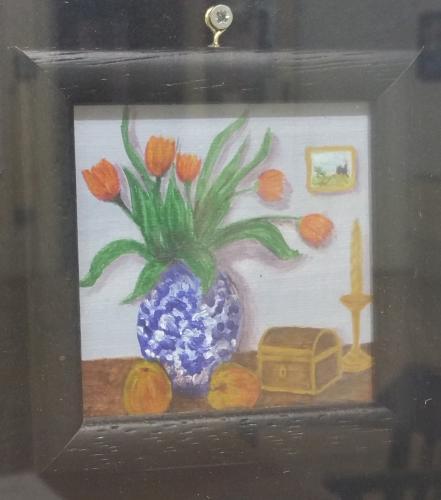 M5 - Blue Vase - Maureen Mann