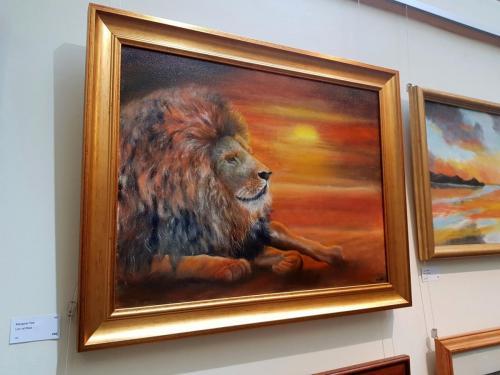 Lion at Rest - Margaret Yole