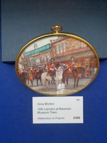 Miniature - 16th Lancers at Beamish Museum Town - Gina Morton