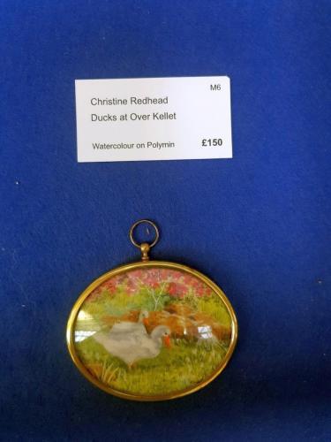 Miniature - Ducks at Over Kellet - Christine Redhead