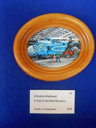 Miniature - A Visit to the Rail Museum - Christine Redhead
