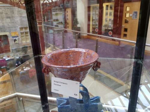 Craft - Pink Bowl - Bridget Emmerson