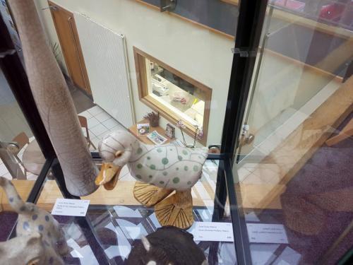 Craft - Duck (Smoked Pottery, Raku) - June Ruby Reeve