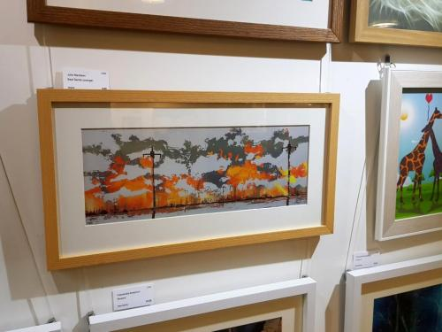 Computer Generated - Seal Sands (orange) - Julie Macbean