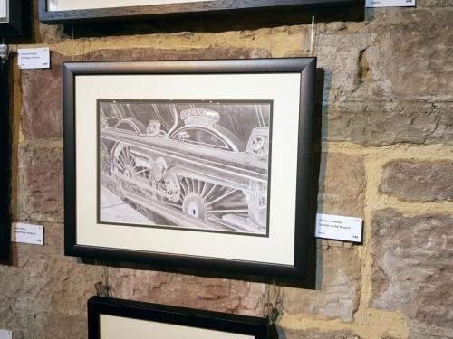'Leander' at Rail Museum - Christine Redhead